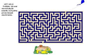 """labirintas """"Aitvaras"""""""