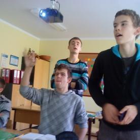 Deividas, Ignas, Edgaras ir Rokas