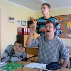 Deividas, Ignas ir Edgaras