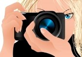 5515096-girl-holding-camera-vector-illustration-file-included