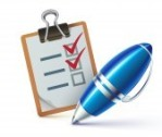 12493403-vector-illustration-of-a-checklist-on-a-clipboard-with-a-elegant-ballpoint-pen-checking-off-tasks