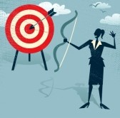 23588212-abstract-businesswoman-hits-the-sales-target