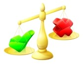 29836932-choosing-yes-concept-of-a-scales-with-a-cross-on-one-side-and-a-tick-on-the-other-the-tick-outweighi