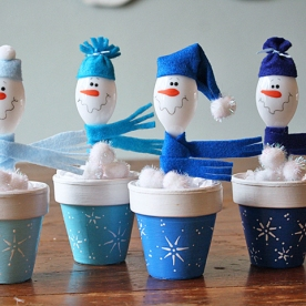 Spoon-Snowmen-in-Clay-Pots-1