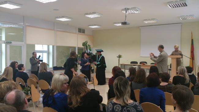 Dėstytojo sveikinimai