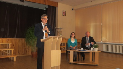 Klaipėdos universiteto daktaras Vygantas Vareikis.