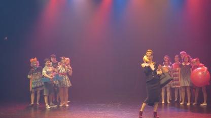 8. Spektaklio akimirkos