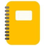 geltonas bloknotas