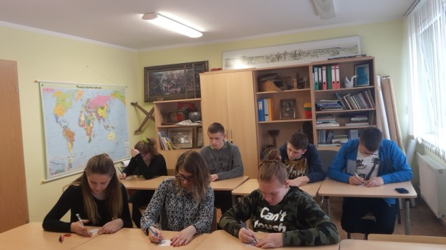 Pupils from Lithuania