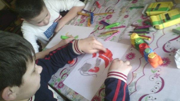 Pupils from Ukraine