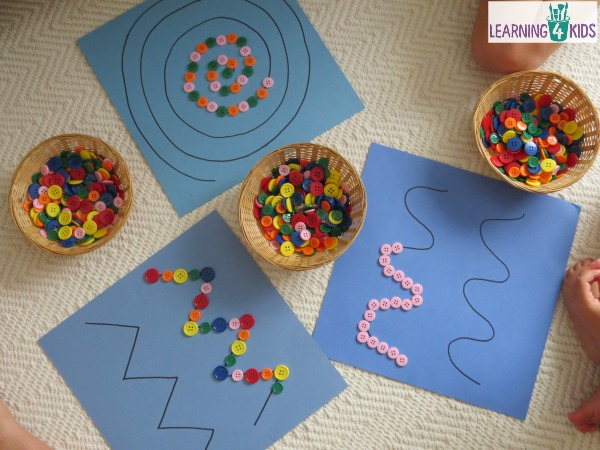 Super-simple-fine-motor-activity-using-buttons-or-pebbles-on-pattern-lines