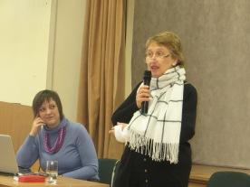 Pedagogikos mokslų daktarė, Rusijos švietimo akademijos narė korespondentė Olga Kukuškina ir pedagogikos mokslų kandidatė Marija Chaidarpašyč