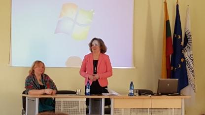 Konferencijos pirmininkė prof. dr. Genovaitė Kačiuškienė