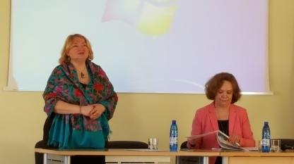 Konferencijos iniciatorė prof. dr. Džiuljeta Maskuliūnienė