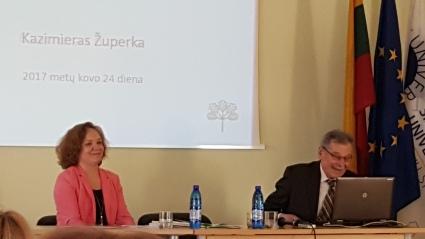 Prof. Kazimieras Župerka