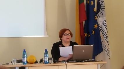Antroji konferencijos iniciatorė dr. Onai Laima Gudzinevičiūtė