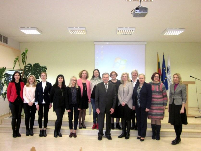 Lietuvių kalbos ir didaktikos sekcijos pranešėjai ir klausytojai