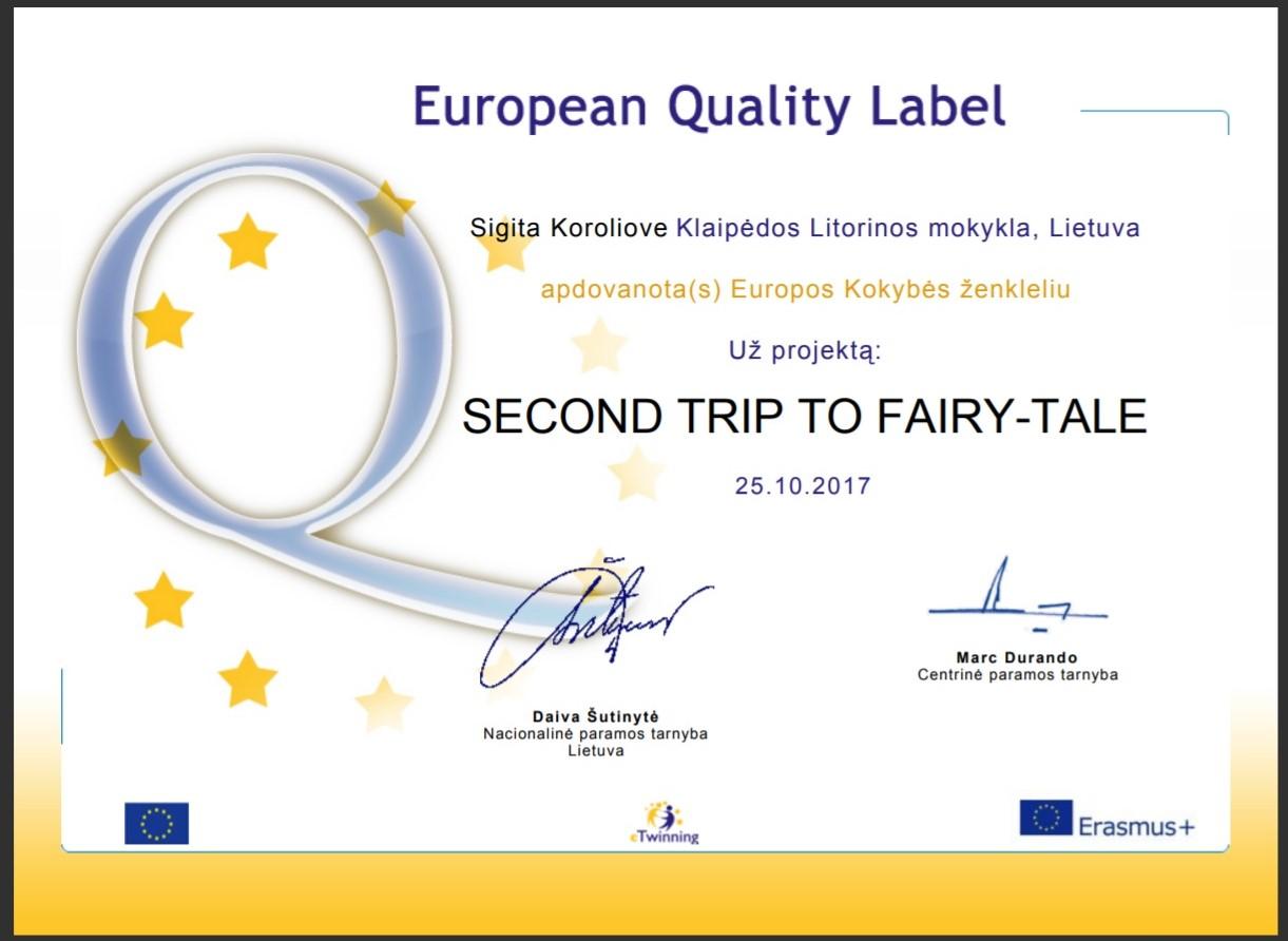 Europos kokybės ženklelis