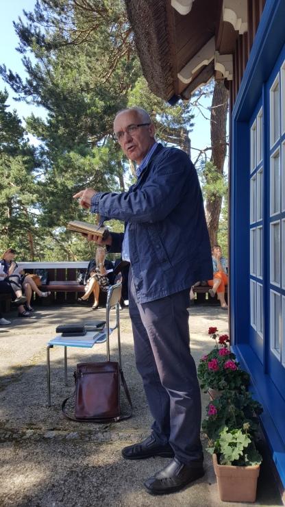 Mokytojas, kultūrininkas, eseistas Vytautas Toleikis pasakoja apie išlikusius Mažosios Lietuvos kultūros elementus.