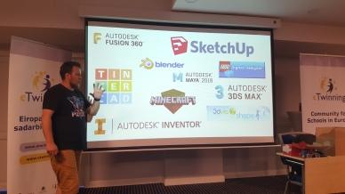 3D modeliavimo programų pristatymas.