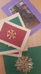 Christmas cards from Lithuania