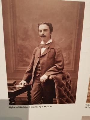 Plungės kunigaikštis Mykolas Mikalojus Severinas Markas Oginskis (1849–1902)